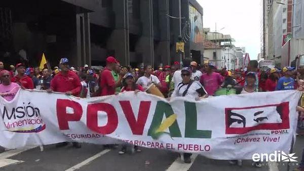 El oficialismo venezolano conmemora  los 20 años de la elección de Hugo Chávez