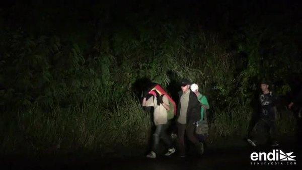 Sale una nueva caravana de migrantes hacia Estados Unidos