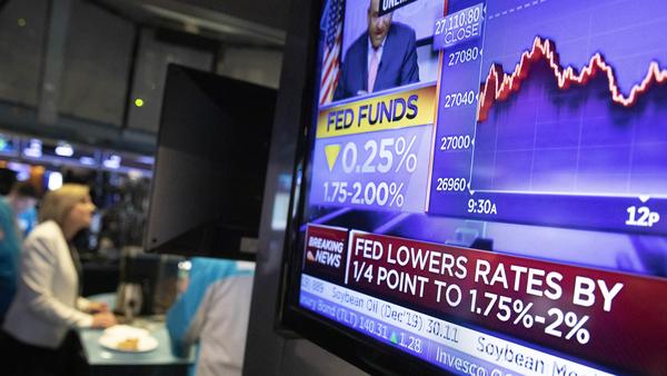 """Fed reduce nuevamente las tasas de intes ante """"incertidumbres"""" mundiales"""