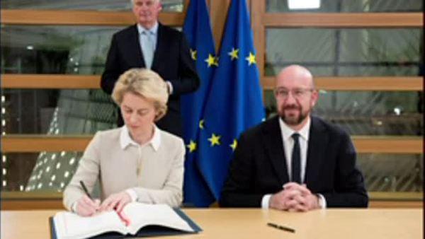 La Unión Europea firma el Brexit