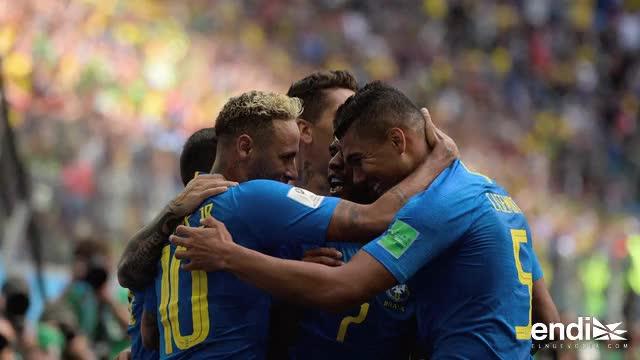 Brasil elimina a Costa Rica y se acerca a los octavos mundialistas