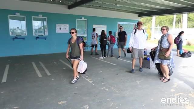 Residentes denuncian las deficiencias en el servicio de lanchas en Ceiba