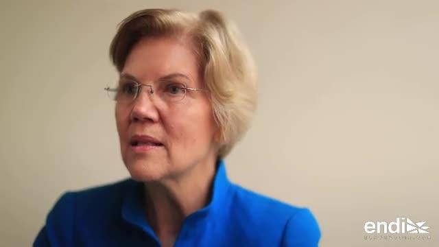 Esto fue lo que destacó Elizabeth Warren sobre la deuda de Puerto Rico
