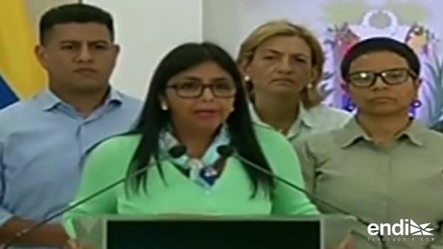 Venezuela acusa a Pence de planear violencia en manifestaciones