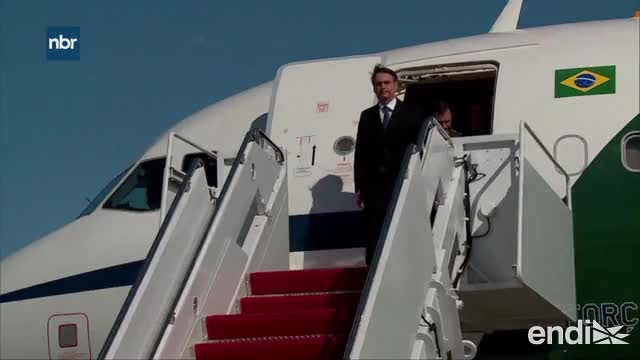 Jair Bolsonaro llega a Estados Unidos