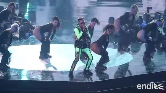 """Momentos electrizantes en los """"Premios Tu Música Urbano"""""""