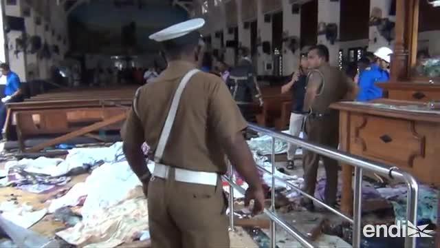 Terribles ataques en Sri Lanka dejan muerte y destrucción en el Domingo de Pascua