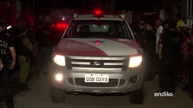 Once muertos a tiros en bar del norte de Brasil