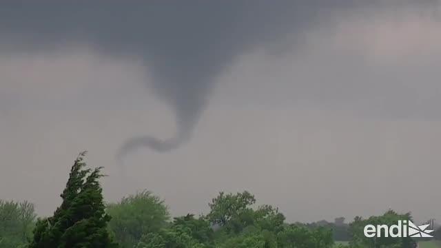 Poderoso sistema de tormentas genera nuevos tornados en Tulsa