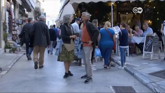 Grecia sale de la crisis a través del turismo y Airbnb pero no todos están contentos