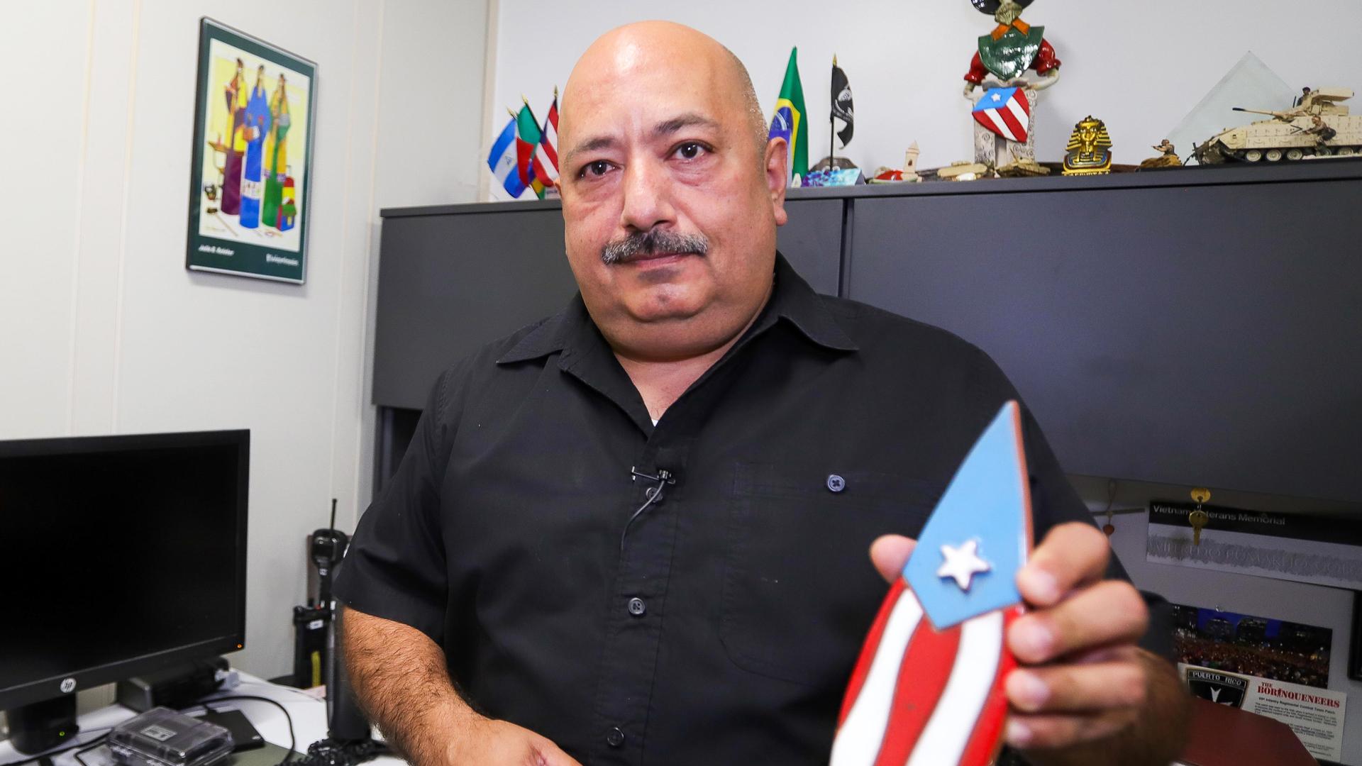 Manuel Soto, el boricua que maneja las emergencias en Orlando