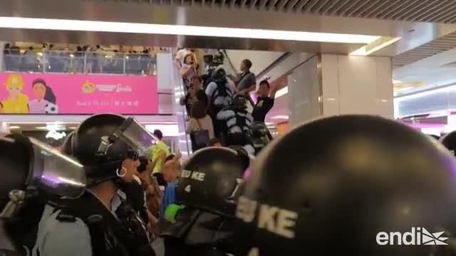 Nuevos altercados en un Hong Kong cada vez más dividido