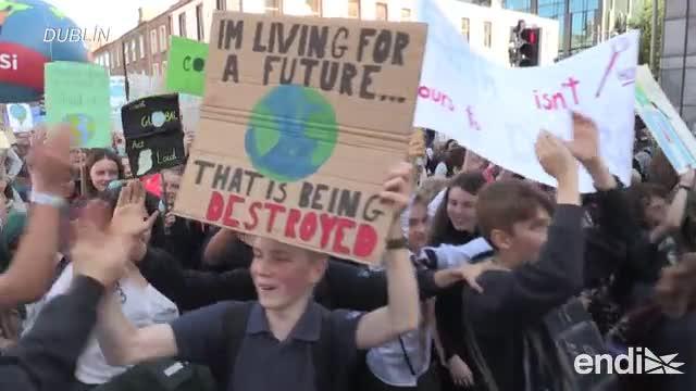 Movilización masiva de la juventud para detener el cambio climático