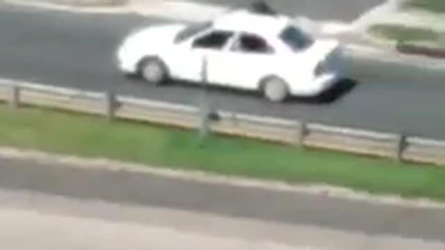 Captan en vídeo el tiroteo en el expreso Martínez Nadal
