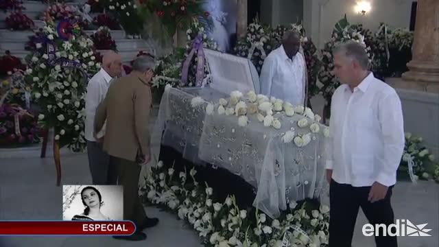 Funerales de Alicia Alonso: adiós a la emperatriz del ballet de Cuba