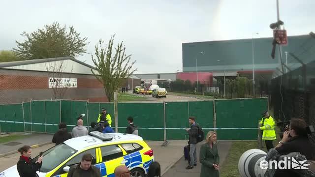 Conmoción en el Reino Unido: encuentran 39 cadáveres en un camión