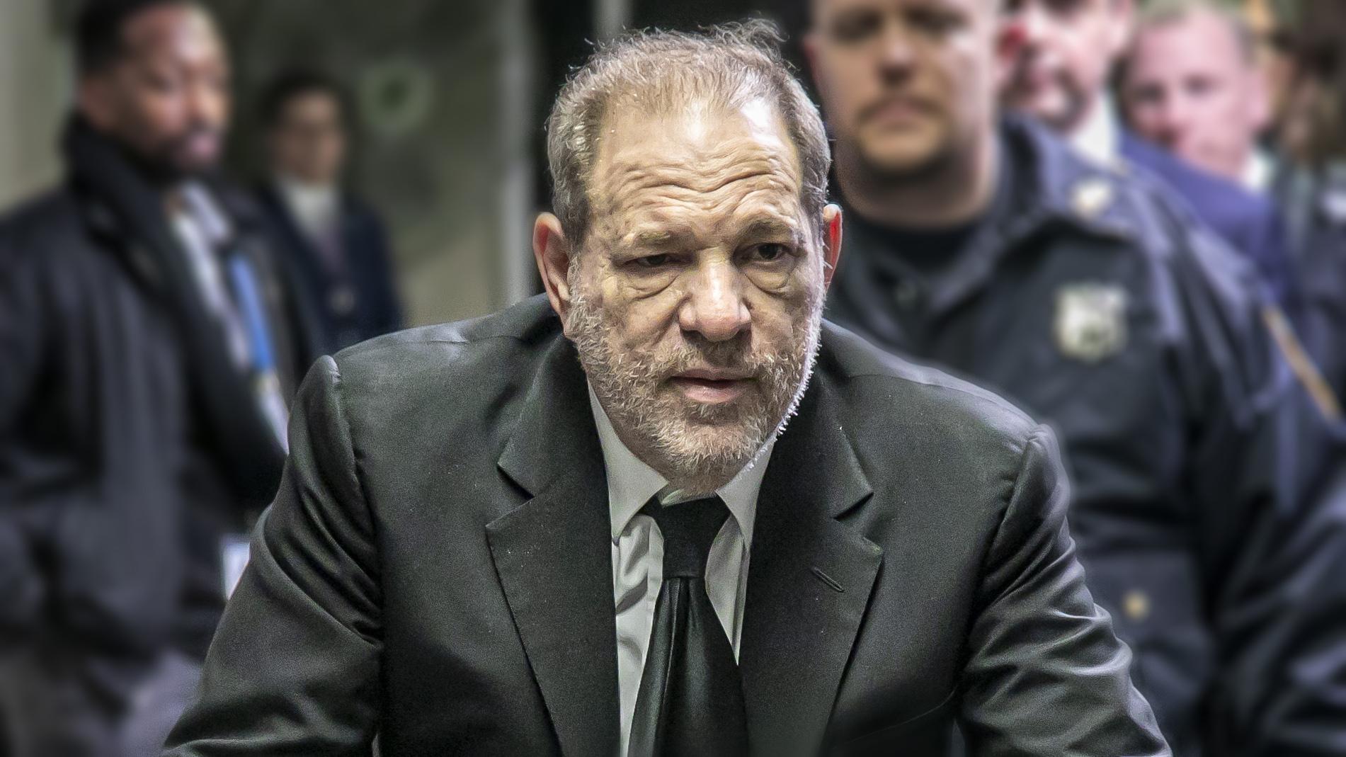 Robusta evidencia contra Harvey Weinstein