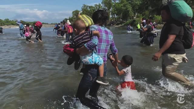 Trataron de cruzar la frontera sin imaginar lo que pasaría después