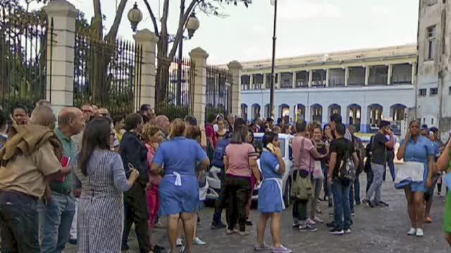 Esta fue la reacción de los cubanos al terremoto de magnitud 7.7
