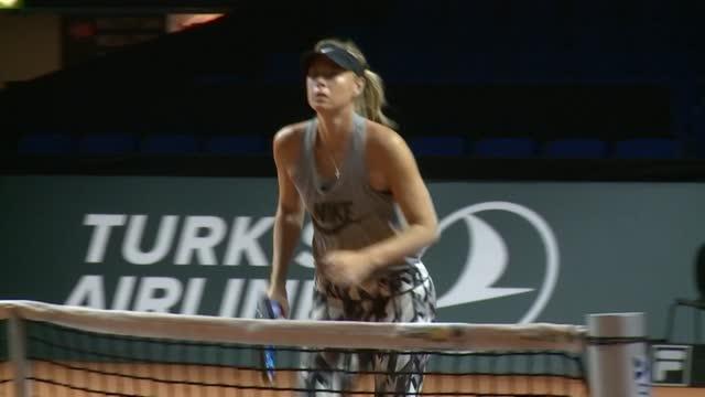 Maria Sharapova se despide del tenis