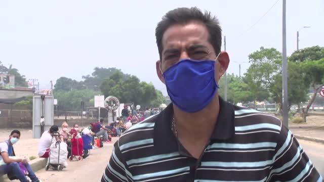 """Regresaron a Venezuela por el COVID-19: """"Nos echaron como perros"""""""