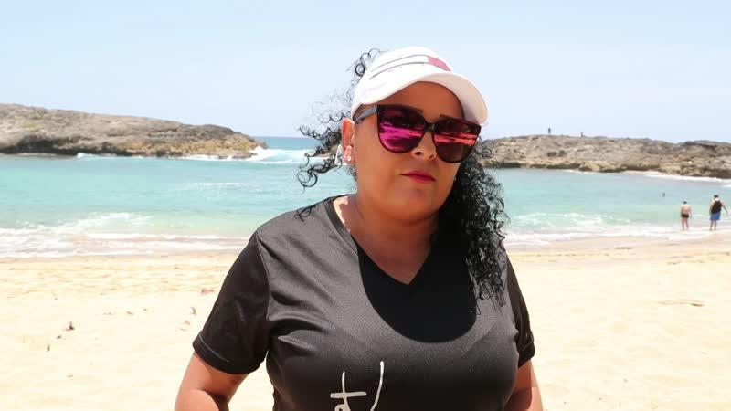 Boricuas vuelven a las playas Mar Chiquita y Los Tubos