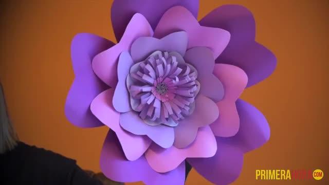 La Mujer Que Cultiva Flores De Papel