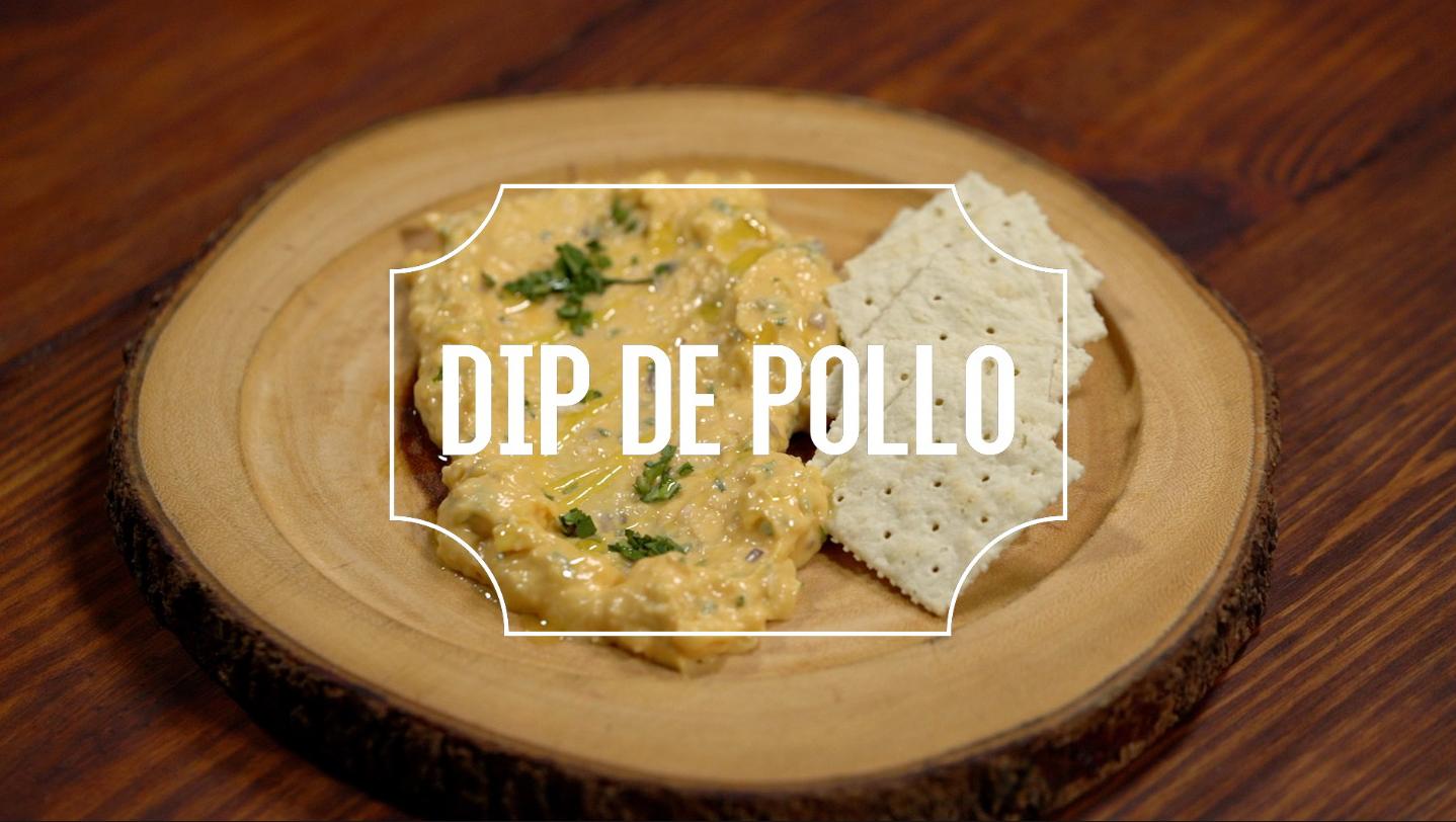 Receta del día: dip de pollo y queso