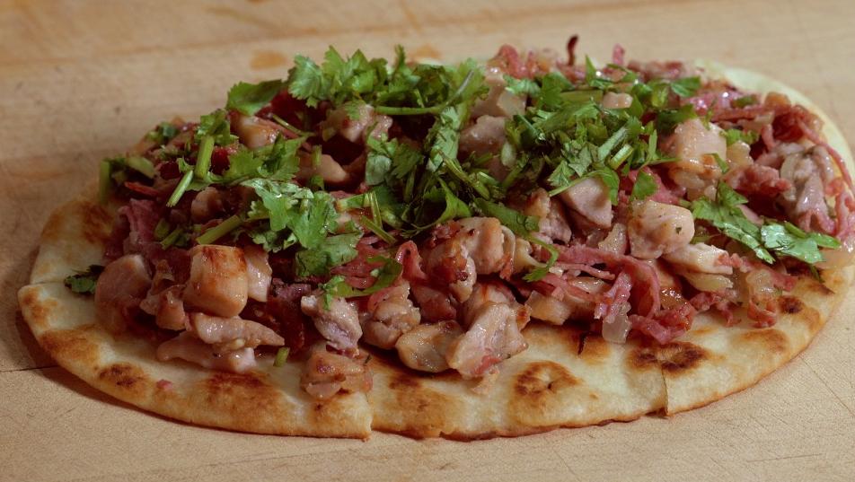 Receta del día: pizzetta de carnes